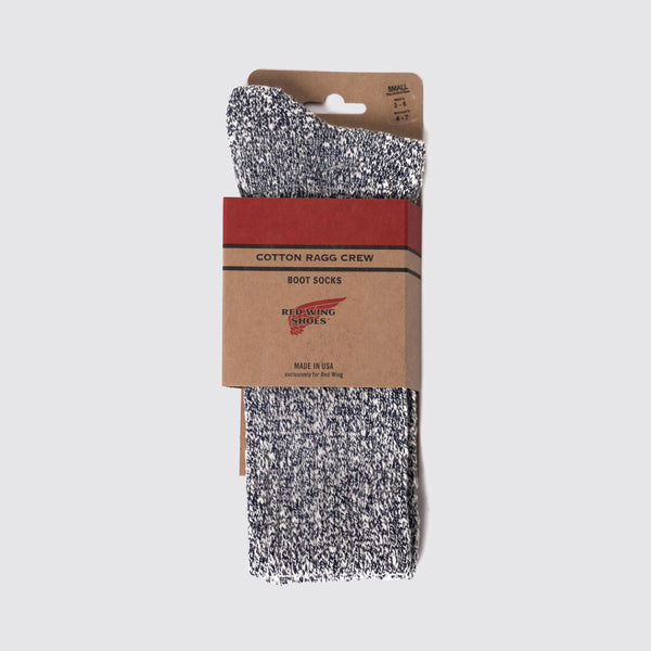 Cotton Rag Sock Navy