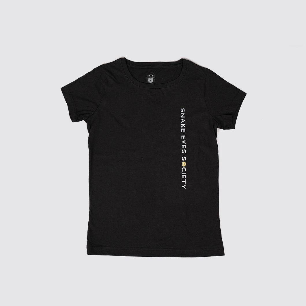 Black Logo Shop Tee