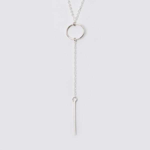 Sterling Silver Long Lariat