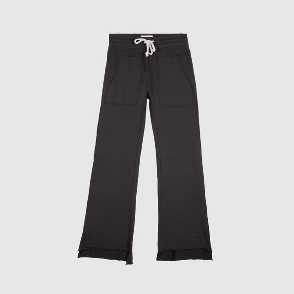 The Edin Crop Sweatpant Vintage Black