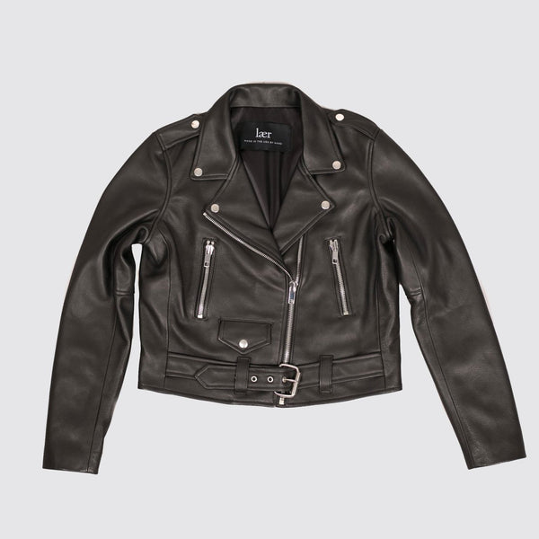 laer leather jacket moto schott
