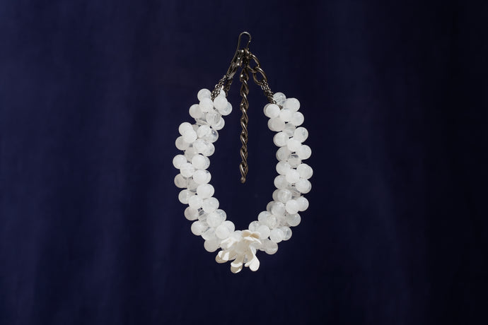 HANA - White Necklace (Pre-Order) - TAM ILLI