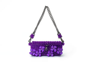 JARDIN - Dahlia Bag - Purple - TAM ILLI