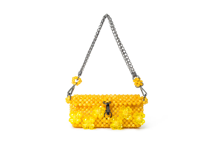 JARDIN - Dahlia Bag - Yellow - TAM ILLI