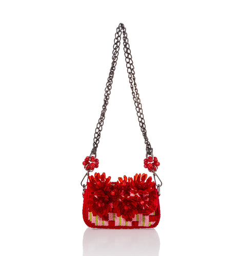 SILK Red - Sling Bag