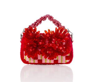 SILK Red - Hand Bag