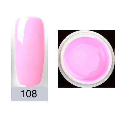 1 Pc 4Ml High Quality Pure Colors Uv Gel Nail Manicure For Led Uv ...