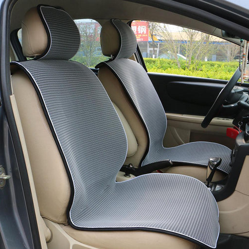 1 Pc Breathable Mesh Car Seat Covers Pad Fit For Most Cars /Summer Cool Seats Cushion Luxurious-Interior Accessories-O SHI CAR Official Store-1 pc Gray-EpicWorldStore.com