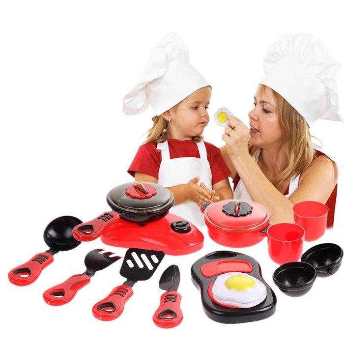 1 Set Kitchen Cooking Toy Children Diy Pretend Kitchen Toy Role Play