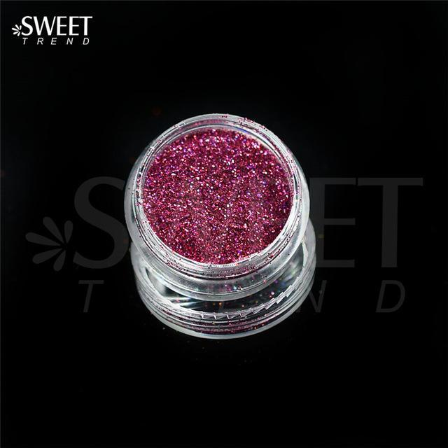 1 X 3G Jar Shiny Laser Holographic Nail Glitter Dust Powder For Nail Art Diy Uv Gel Polish Nail-Nails & Tools-SWEETTREND nail art Store-L04-EpicWorldStore.com