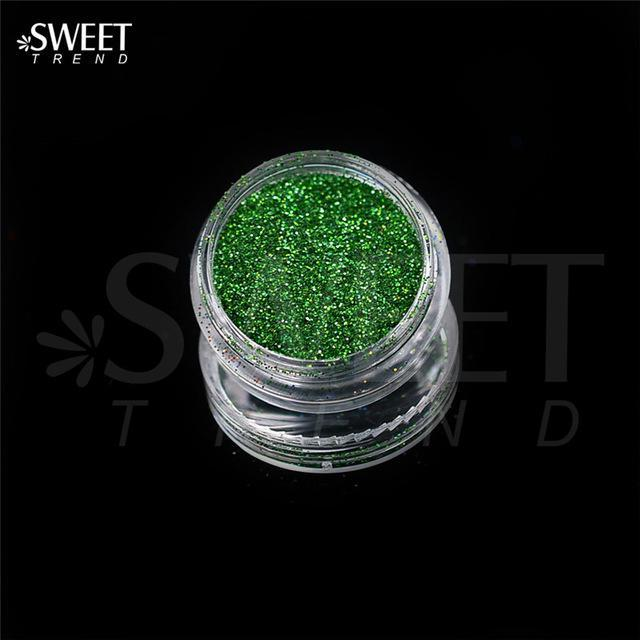1 X 3G Jar Shiny Laser Holographic Nail Glitter Dust Powder For Nail Art Diy Uv Gel Polish Nail-Nails & Tools-SWEETTREND nail art Store-L05-EpicWorldStore.com