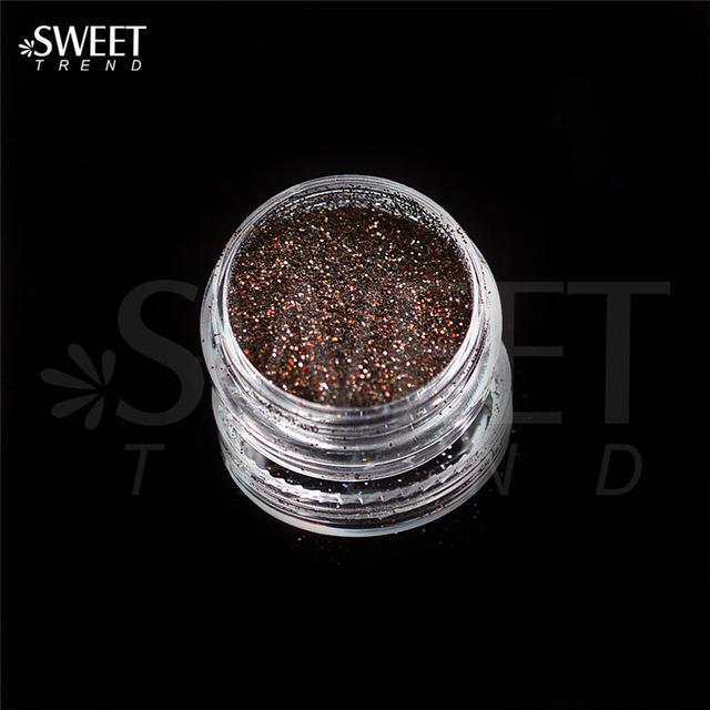 1 X 3G Jar Shiny Laser Holographic Nail Glitter Dust Powder For Nail Art Diy Uv Gel Polish Nail-Nails & Tools-SWEETTREND nail art Store-L06-EpicWorldStore.com