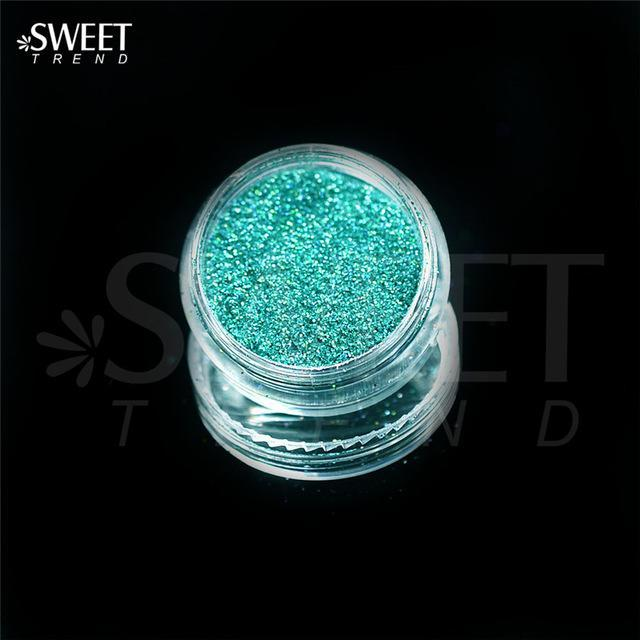 1 X 3G Jar Shiny Laser Holographic Nail Glitter Dust Powder For Nail Art Diy Uv Gel Polish Nail-Nails & Tools-SWEETTREND nail art Store-L09-EpicWorldStore.com
