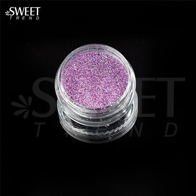 1 X 3G Jar Shiny Laser Holographic Nail Glitter Dust Powder For Nail Art Diy Uv Gel Polish Nail-Nails & Tools-SWEETTREND nail art Store-L13-EpicWorldStore.com