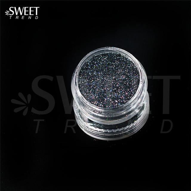 1 X 3G Jar Shiny Laser Holographic Nail Glitter Dust Powder For Nail Art Diy Uv Gel Polish Nail-Nails & Tools-SWEETTREND nail art Store-L15-EpicWorldStore.com
