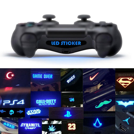 10 20 40 Pcs/Lot Led Sticker Decal Ps4 Light Bar Stickers For Playstation 4 Controller Light Bar Ps4-Video Games-KOSTON Store-A 10PCS-EpicWorldStore.com