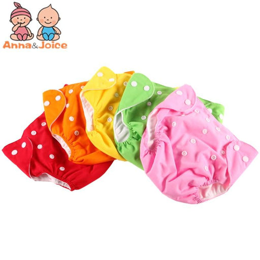 10 Pcs/Lot Baby Diaper One-Size Adjustable Washable Cloth Diaper Nappy Urine Pants For 3-12Kg-Toilet Training-Chenfa Factory Store-EpicWorldStore.com