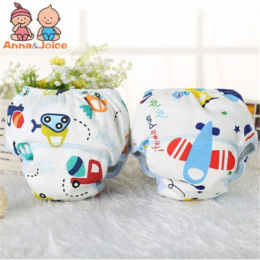 10 Pcs/Lot Baby Diapers/Children Underwear/Reusable Diaper Cover/Infant Animals Potty Washable-Toilet Training-Ningbo Chenfa trade co., LTD-EpicWorldStore.com