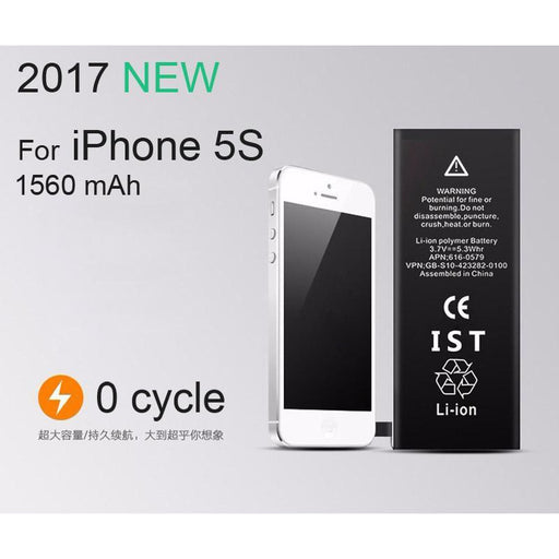 100% Ist Original Mobile Phone Battery For Iphone 5S Real Capacity 1560Mah With Repair Tools Kit And-Mobile Phone Parts-ISTUO Officialflagship Store-EpicWorldStore.com