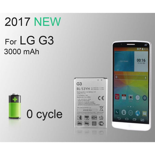 100% Ist Original Mobile Phone Battery For Lg G3 D855 D850 D858 D859 F460 Vs985 Bl53Yh 3000Mah-Mobile Phone Parts-ISTUO Officialflagship Store-EpicWorldStore.com