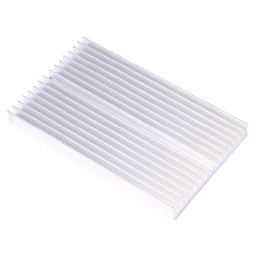 100*60*10Mm Diy Cooler Aluminum Heatsink Grille Shape Radiator Heat Sink Chip For Ic Led Power-Computer Components-Jiaming's store-EpicWorldStore.com