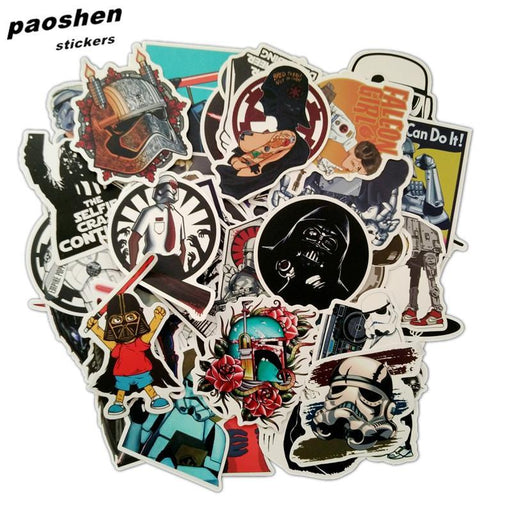 100Pcs/Lot Very Cool Styling Luggage Decal Toy The Stickers For Car Pvc Waterproof Laptop Motorcycle-Classic Toys-paoshen Official Store-EpicWorldStore.com
