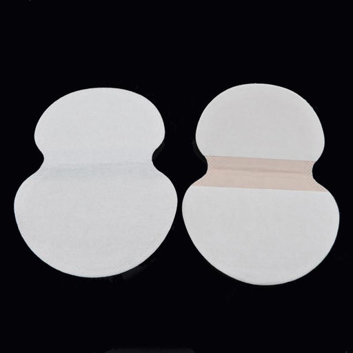 100X ( 50 Pairs ) Summer Deodorants Cotton Pads Underarm Armpit Sweat Pads Dress Disposable Stop-Fragrances & Deodorants-NiNi Sun Co.,LTD-EpicWorldStore.com