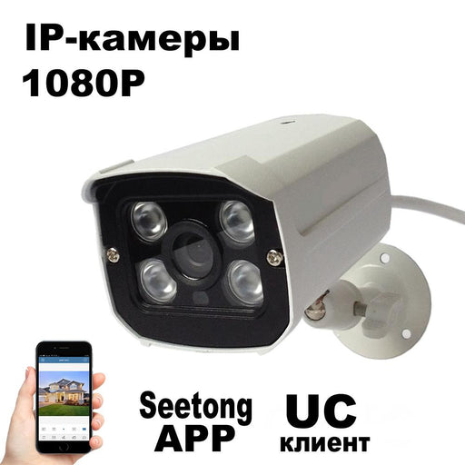 1080P Security Camera Onvif P2P Cloud 2Mp Ip Camera Video Surveillance 2Mp Ir Night Vision-HanoVisual Security Technology-3.6mm-EpicWorldStore.com