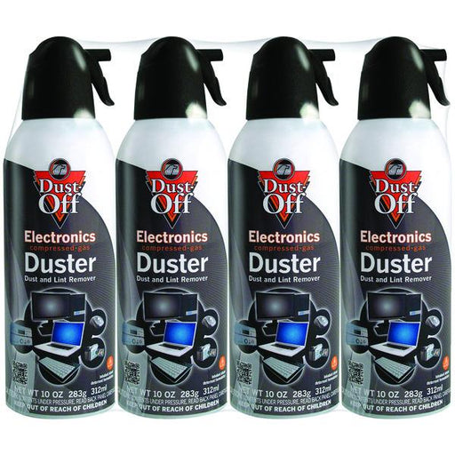 10Oz Electronics Dusters, 4 Pk-Computer Peripherals & Home Office-DUST-OFF(R)-EpicWorldStore.com