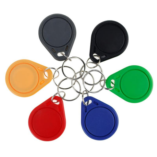 10Pcs Rfid Keytags 13.56 Mhz Rfid Key Fobs Keychains Nfc Tags Iso14443A Mf Nfc Access Control-HOMTECH Store-Red-EpicWorldStore.com