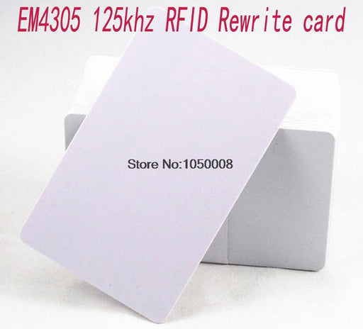 10Pcs/Lot 125Khz Proximity Rfid Em4305 T5577 Smart Card Read And Rewriteable Access Control-Shenzhen fly fly technology company-EpicWorldStore.com