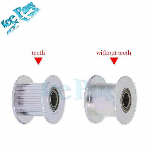 10Pcs/Lot Gt2 Idler Timing Pulley 16 Teeth 20Tooth Part Wheel Bore 3Mm 5Mm Aluminium Tooth Gear-Office Electronics-KINGROON Factory Store-16T W6 B3-EpicWorldStore.com