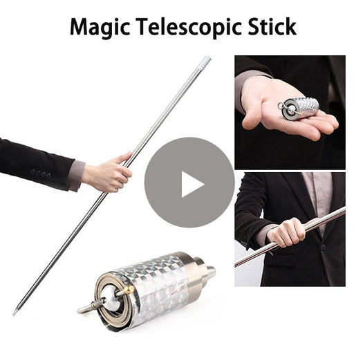 110Cm/150Cm Portable Self Defense Telescopic Rod Martial Arts Metal Magic Pocket Outdoor Car Anti-Self Defense Supplies-YUZE Newwork Store-Gray-EpicWorldStore.com