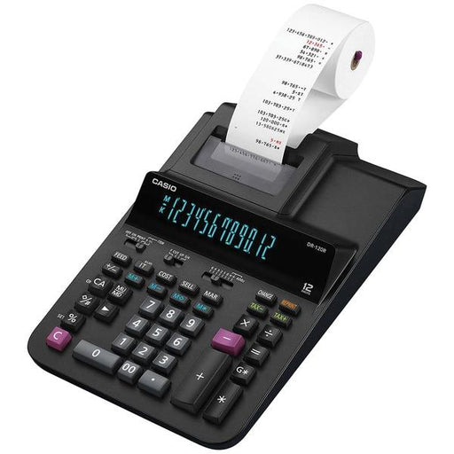 12-Digit Large Desktop Printing Calculator-Computer Peripherals & Home Office-CASIO(R)-EpicWorldStore.com