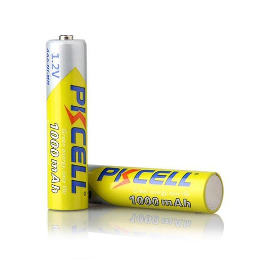 12 X Pkcell Aaa Battery Ni-Mh 1.2V 1000Mah Aaa Rechargeable Battery Batteries 3A Bateria Baterias-Accessories & Parts-Pkcell 918700 Store-EpicWorldStore.com