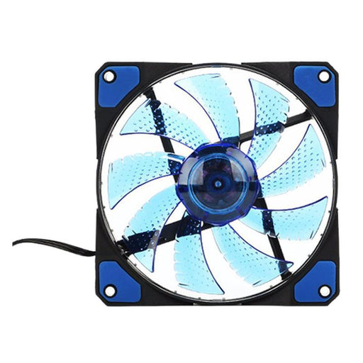 120Mm Pc Computer 16Db Ultra Silent 33 Leds Case Fan Heatsink Cooler Cooling With Anti-Vibration-Computer Components-E-Tablet&Computer Store-Red-EpicWorldStore.com