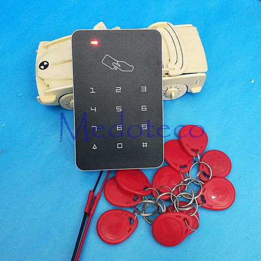 125Khz Rfid Access Control High Security Rfid Proximity Entry Door Lock Access Control System 1000-Medo Electronics Limited-Blue Keycard-EpicWorldStore.com