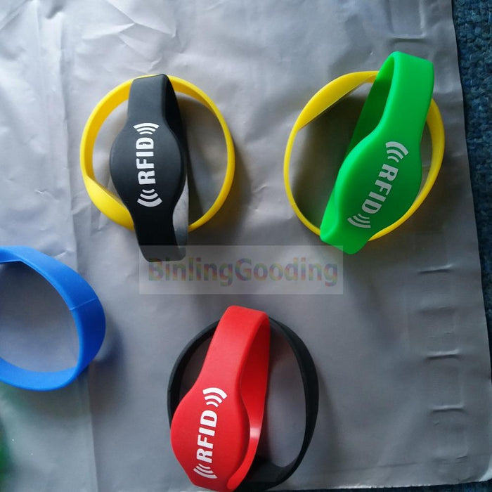 125Khz Rfid Em4100/Tk4100 Wristband Bracelet Id Card Silicone Rfid Band Read Only Access Control-Binling Gooding-EpicWorldStore.com