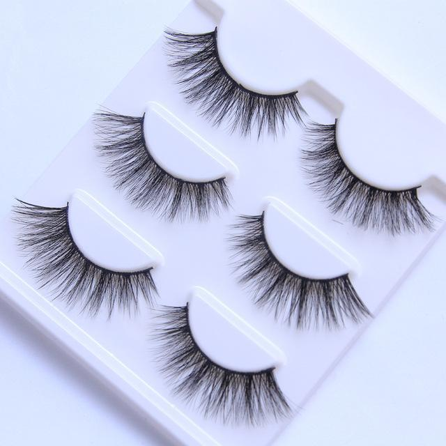 13 Different Styles Stylish 100% Handmade 3D Mink Hair Beauty Thick Long False Mink Eyelashes Fake-Makeup-Sexy eyelash Store-045-EpicWorldStore.com