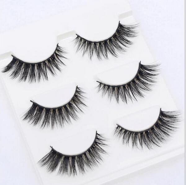 13 Different Styles Stylish 100% Handmade 3D Mink Hair Beauty Thick Long False Mink Eyelashes Fake-Makeup-Sexy eyelash Store-3DZ05-EpicWorldStore.com