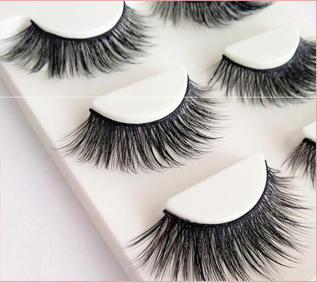 13 Different Styles Stylish 100% Handmade 3D Mink Hair Beauty Thick Long False Mink Eyelashes Fake-Makeup-Sexy eyelash Store-D07-EpicWorldStore.com