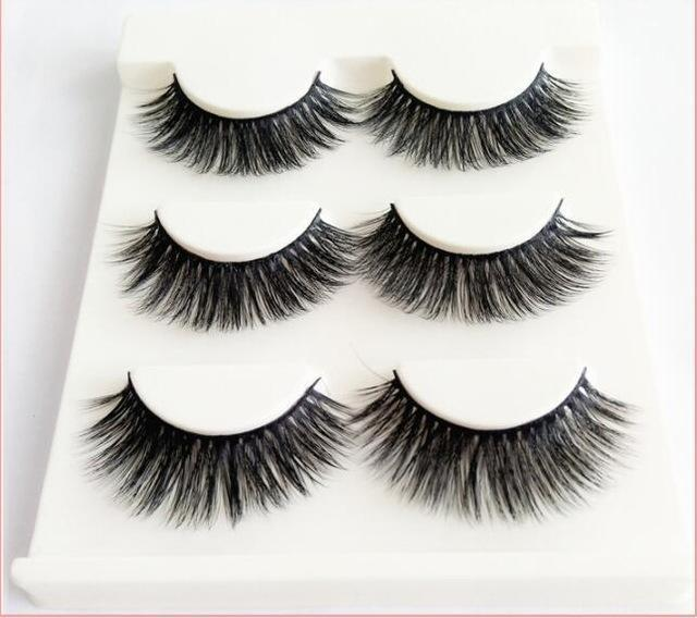 13 Different Styles Stylish 100% Handmade 3D Mink Hair Beauty Thick Long False Mink Eyelashes Fake-Makeup-Sexy eyelash Store-D13-EpicWorldStore.com