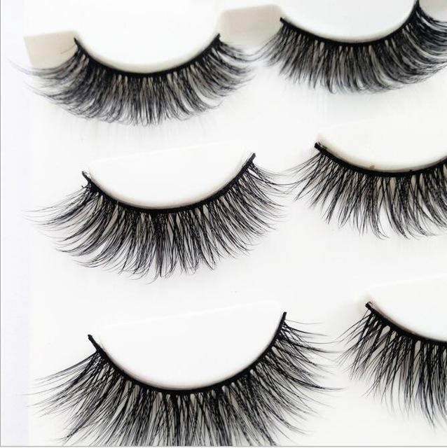 13 Different Styles Stylish 100% Handmade 3D Mink Hair Beauty Thick Long False Mink Eyelashes Fake-Makeup-Sexy eyelash Store-D15-EpicWorldStore.com