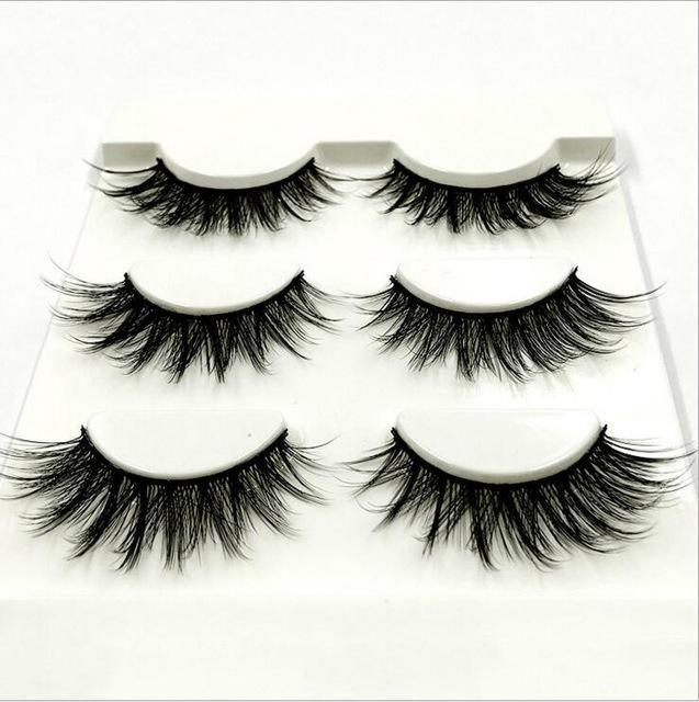 13 Different Styles Stylish 100% Handmade 3D Mink Hair Beauty Thick Long False Mink Eyelashes Fake-Makeup-Sexy eyelash Store-F060-EpicWorldStore.com