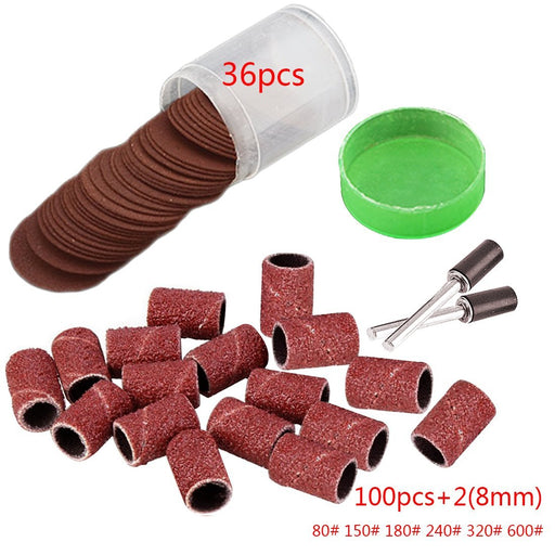 136Pcs Rotary Power Tool Wood Metal Engraving Electric Accessory For Dremel Bit Set Grinding-Abrasive Tools-Hey Girl Store-80-EpicWorldStore.com