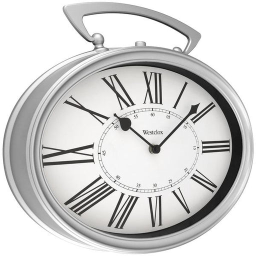 "15"" Oval Pocket Watch Wall Clock-Housewares & Personal Care-WESTCLOX(R)-EpicWorldStore.com"