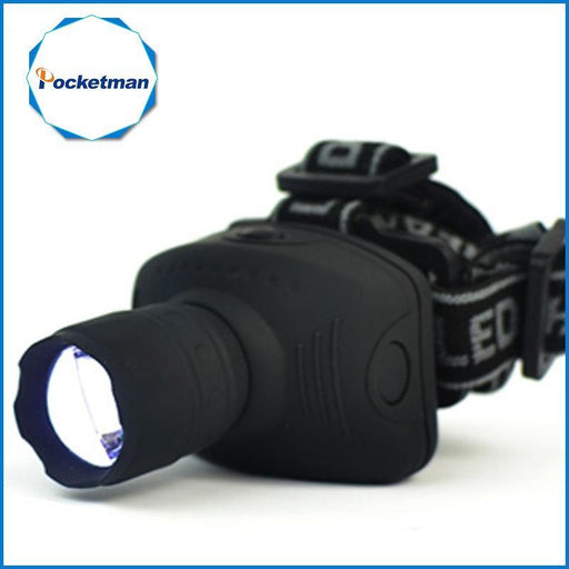 1800Lumen Headlamp Cree Led Headlight Flashlight Frontal Lantern Zoomable Head Torch Light Bike-Portable Lighting-POCKETMANlingling Store-EpicWorldStore.com