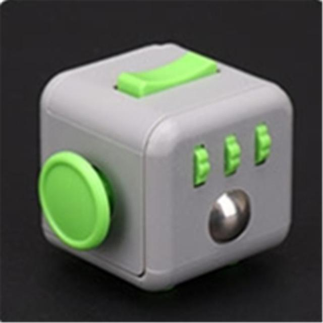 19 Styles Colorful Stress Cube For Fidgeters Relieve Stress Anxiety Boredom Fidget Cube Relieves-Novelty