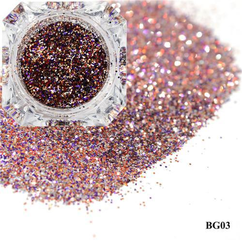 1Box Platinum Shiny Nail Glitter Powder Laser Sparkly Diamond Manicure Nail Art Chrome Pigment Diy-Nails & Tools-SWEETTREND nail art Store-03-EpicWorldStore.com