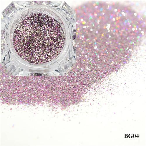 1Box Platinum Shiny Nail Glitter Powder Laser Sparkly Diamond Manicure Nail Art Chrome Pigment Diy-Nails & Tools-SWEETTREND nail art Store-04-EpicWorldStore.com